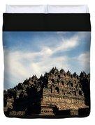 Dramatic Ancient Borobudur  Duvet Cover