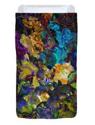 Dramatic Blooms 01 Duvet Cover