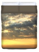 Dramatic Sunglow Duvet Cover