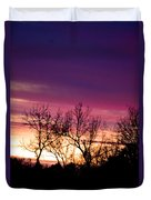 Dramatic Sunrise-l Duvet Cover
