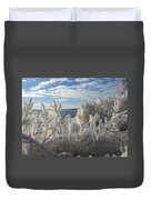 Draped In Icy Beauty Duvet Cover