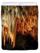 Draperies And Stalactites Duvet Cover