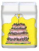 Dream Cake Duvet Cover