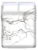 Dream Horse Duvet Cover by Angel  Tarantella