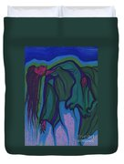 Dream In Color 1 By Jrr Duvet Cover