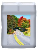 Dream Road Duvet Cover