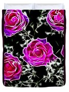 Dream With Roses Duvet Cover