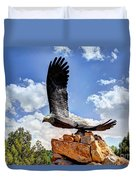 Dream Your Eagle And Fly With Him Duvet Cover