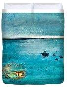 Dreaming Mermaid Duvet Cover