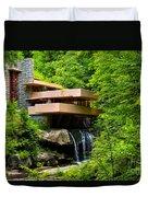 Dreaming Of Fallingwater 4 Duvet Cover