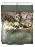 Dreaming Of Forget-me-nots Duvet Cover