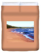 Dreaming Of Lake Superior Duvet Cover