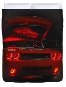 Dreams Of Red Seduction Duvet Cover