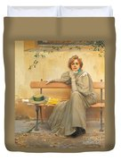 Dreams  Duvet Cover by Vittorio Matteo Corcos