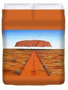 Dreamtime Australia Duvet Cover