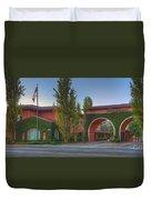 Dreamworks Studio Burbank Glendale Ca Panorama  Duvet Cover
