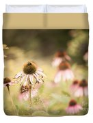 Dreamy Coneflowers Duvet Cover