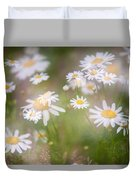 Dreamy Daisies On Summer Meadow Duvet Cover
