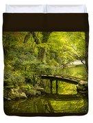 Dreamy Japanese Garden Duvet Cover by Sebastian Musial