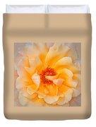 Dreamy Orange Rose Duvet Cover