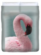 Dreamy Pink Flamingo Duvet Cover