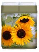 Dreamy Sunflower Day Duvet Cover
