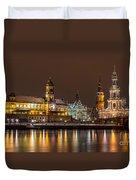 Dresden The Capital Of Saxony I Duvet Cover