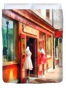 Dress Shop Fells Point Md Duvet Cover
