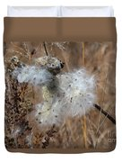 Dried Milk Weed  Duvet Cover