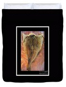 Dried Salted Codfish Back Duvet Cover