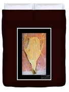 Dried Salted Codfish Front Duvet Cover