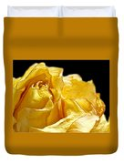 Dried Yellow Rose II Duvet Cover