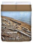 Drifted Woods Duvet Cover