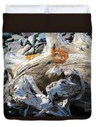 Driftwood Abstract Duvet Cover