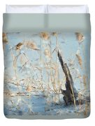Driftwood Abstract Duvet Cover