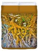 Queen Mariana's Driftwood Duvet Cover