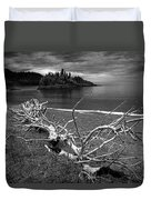 Driftwood On The Shore Near Wawa Ontario Canada Duvet Cover