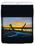 Driftwood Sunset Duvet Cover