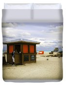 Drink Of The Day - Miami Beach - Florida Duvet Cover