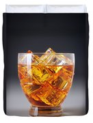 Drink On Ice Duvet Cover