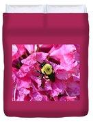 Drinking Nectar Duvet Cover