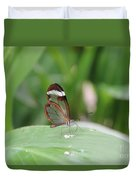 Drinking Water Duvet Cover