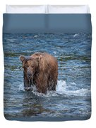 Dripping Grizzly Duvet Cover