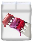 Dripping Lipstick Duvet Cover