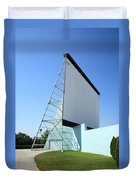 Drive-in Movie Duvet Cover