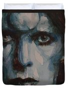 Drive In Saturday Duvet Cover by Paul Lovering