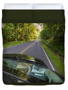 Drive To Vacation Duvet Cover