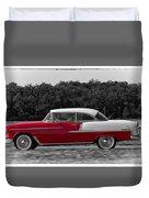 Driving A Dream Duvet Cover