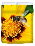 Drone Bee Duvet Cover