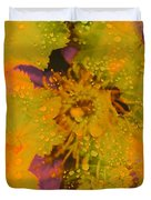 Droplets Two Duvet Cover